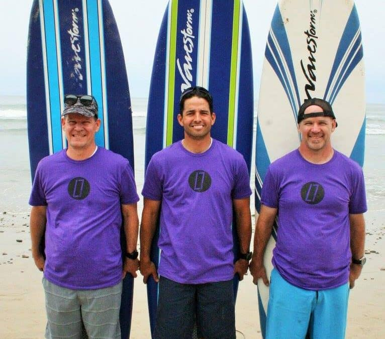 Teaching Leadership & Strength Through Surfing