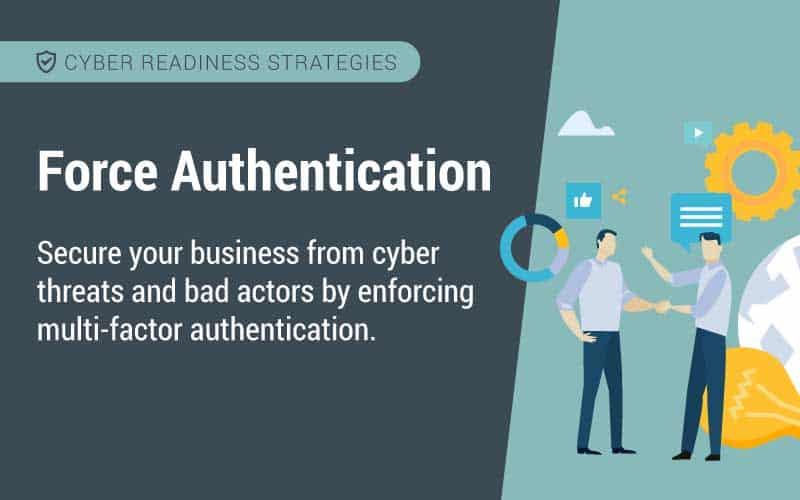 force authentication