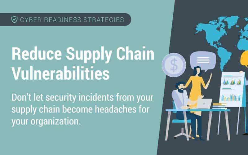 reduce supply chain vulnerabilities