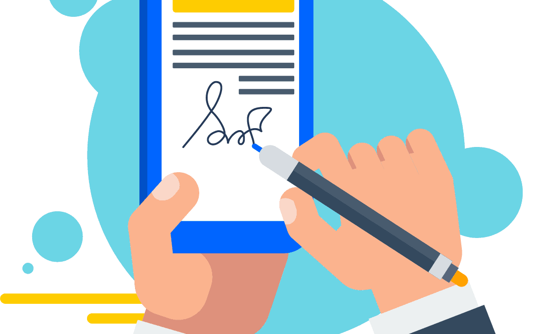 Increase Productivity and Reduce Paper with Electronic Signatures