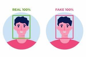 deepfake technology concept