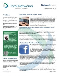 Total Networks Newsletter