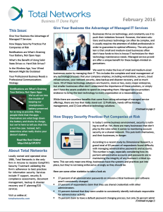 TotalNetworks-February 2016-Newsletter