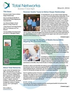 TotalNetworks-March 2016-Newsletter