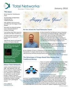 TotalNetworks-January 2016-Newsletter