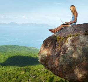 work remotely from anywhere