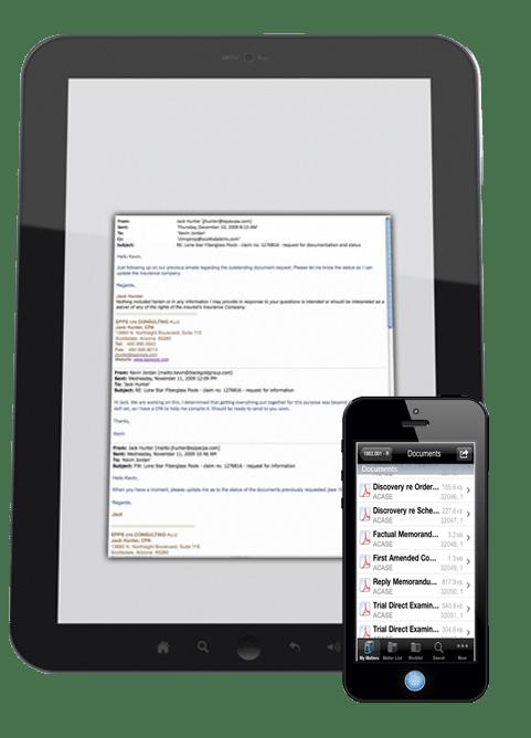 Document Management Tablet Phone